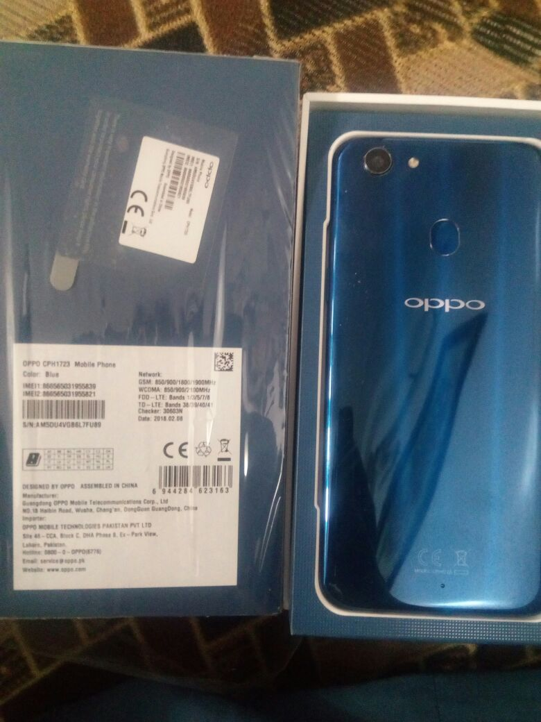 oppo f5 blue limited edition - photo 3