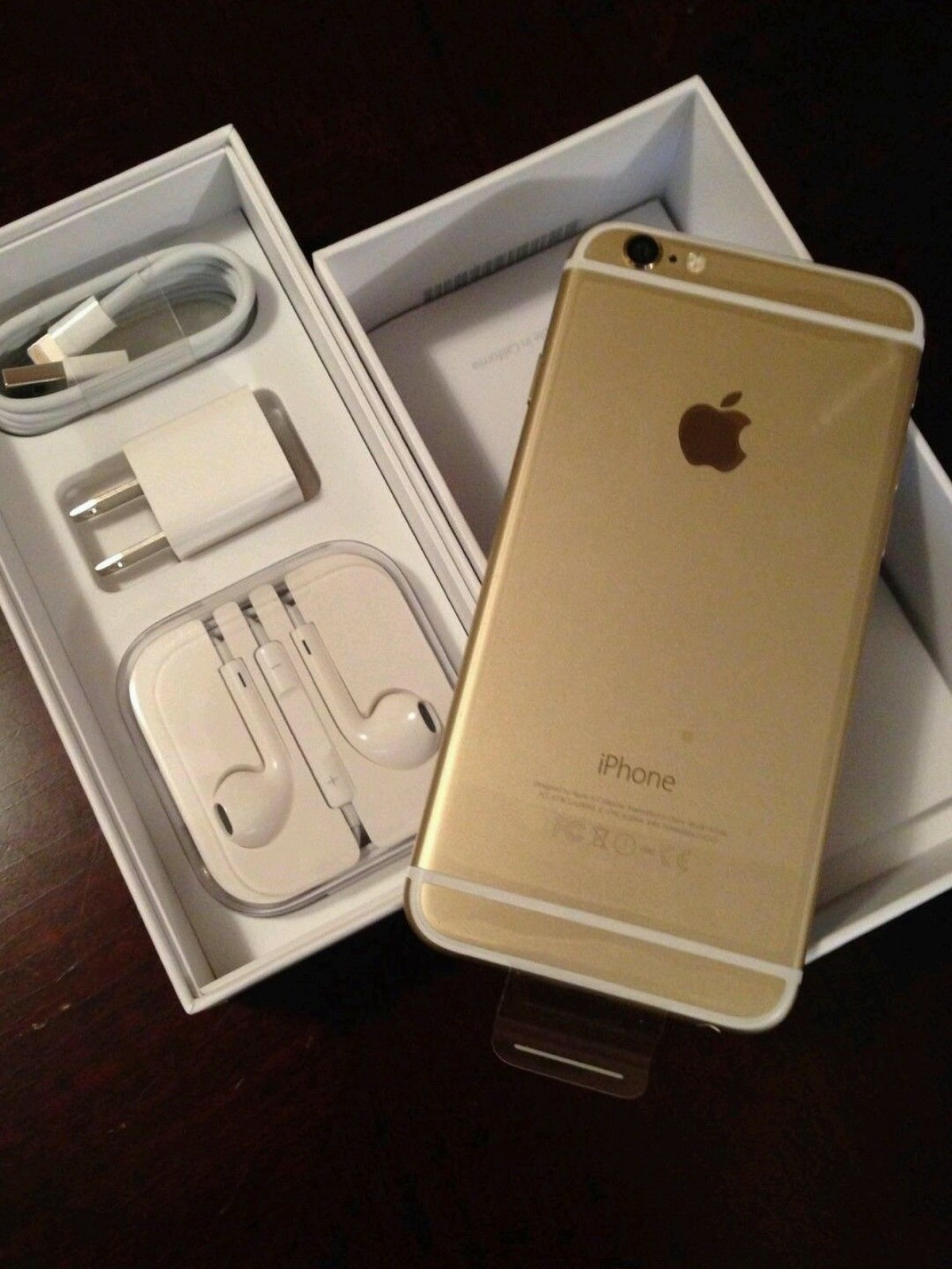 iPhone 6s 64 GB with box and accessories  - photo 1