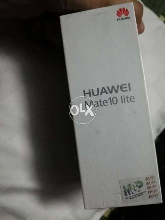 Huawei mate 10 lite with full warranty - photo 3