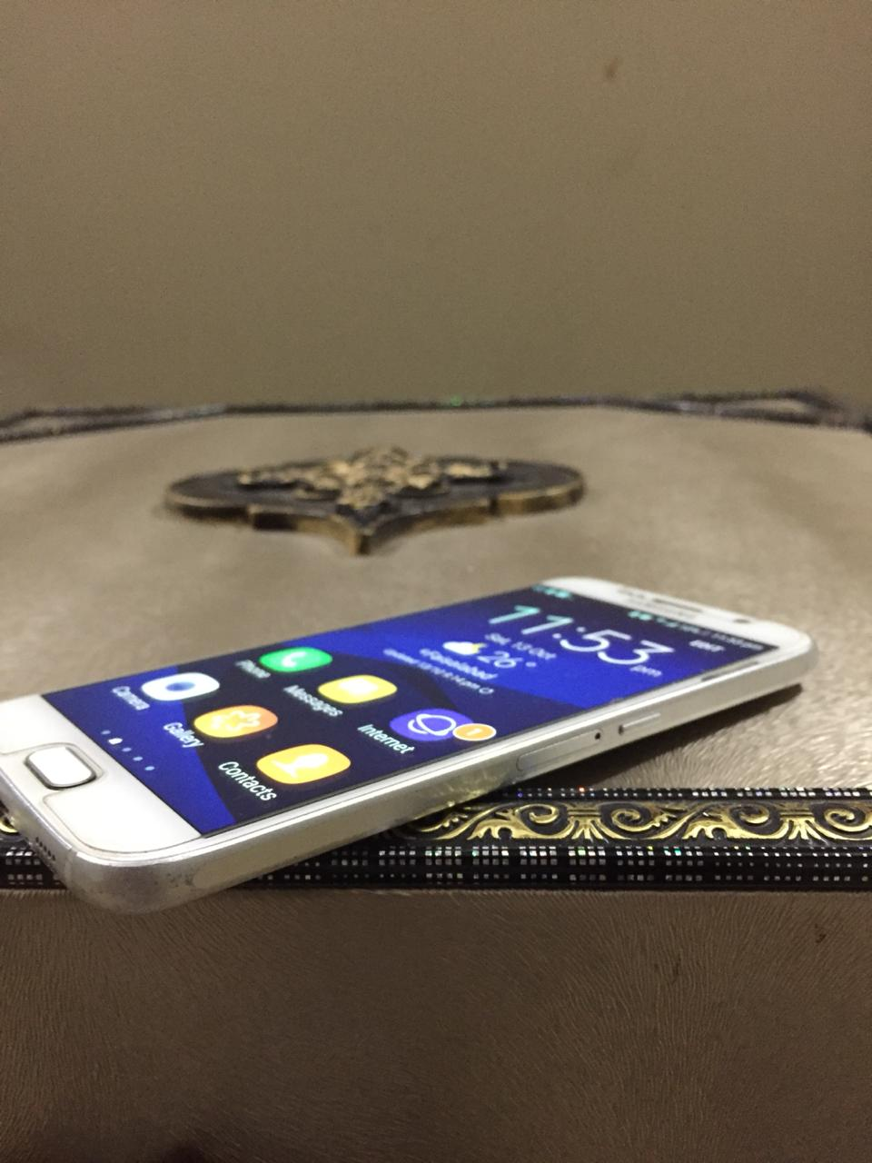 Samsung Galaxy S6 100% Working. CRYSTAL CLEAR FRONT. No Fault, Never Repaired. - photo 1