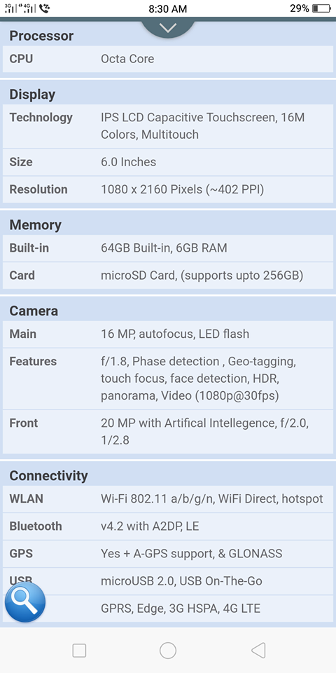 Oppo F5 6GB Ram 64 Memory for Sale - photo 3
