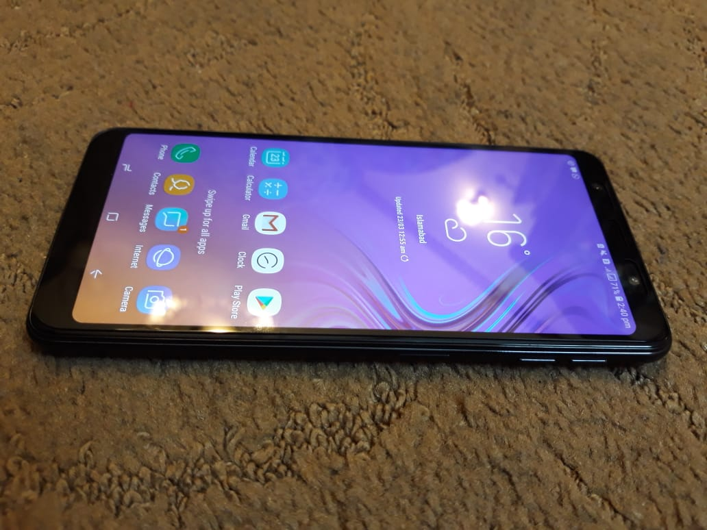 Samsung A7 2018 with full warranty and box - photo 3
