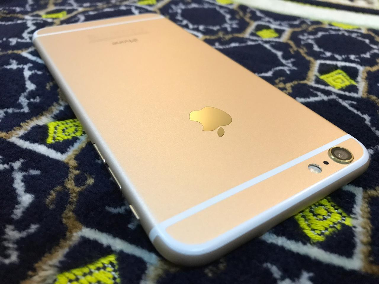 Apple iPhone 6 Plus 16gb Gold just Like Zero 10/10 IMEI Match Complete Accessories - photo 2