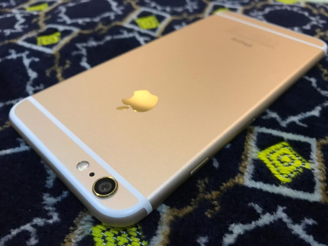 Apple iPhone 6 Plus 16gb Gold just Like Zero 10/10 IMEI Match Complete Accessories - photo 1