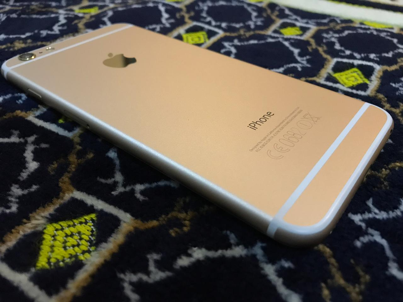 Apple iPhone 6 Plus 16gb Gold just Like Zero 10/10 IMEI Match Complete Accessories - photo 3