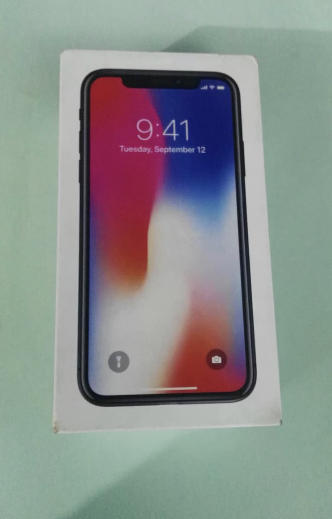 Iphone X 64 gb Pta Approved space Grey - photo 1