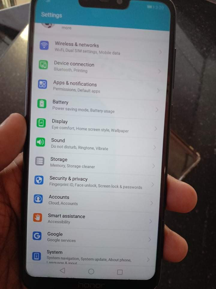 Honor 8c mobile for sale - photo 2