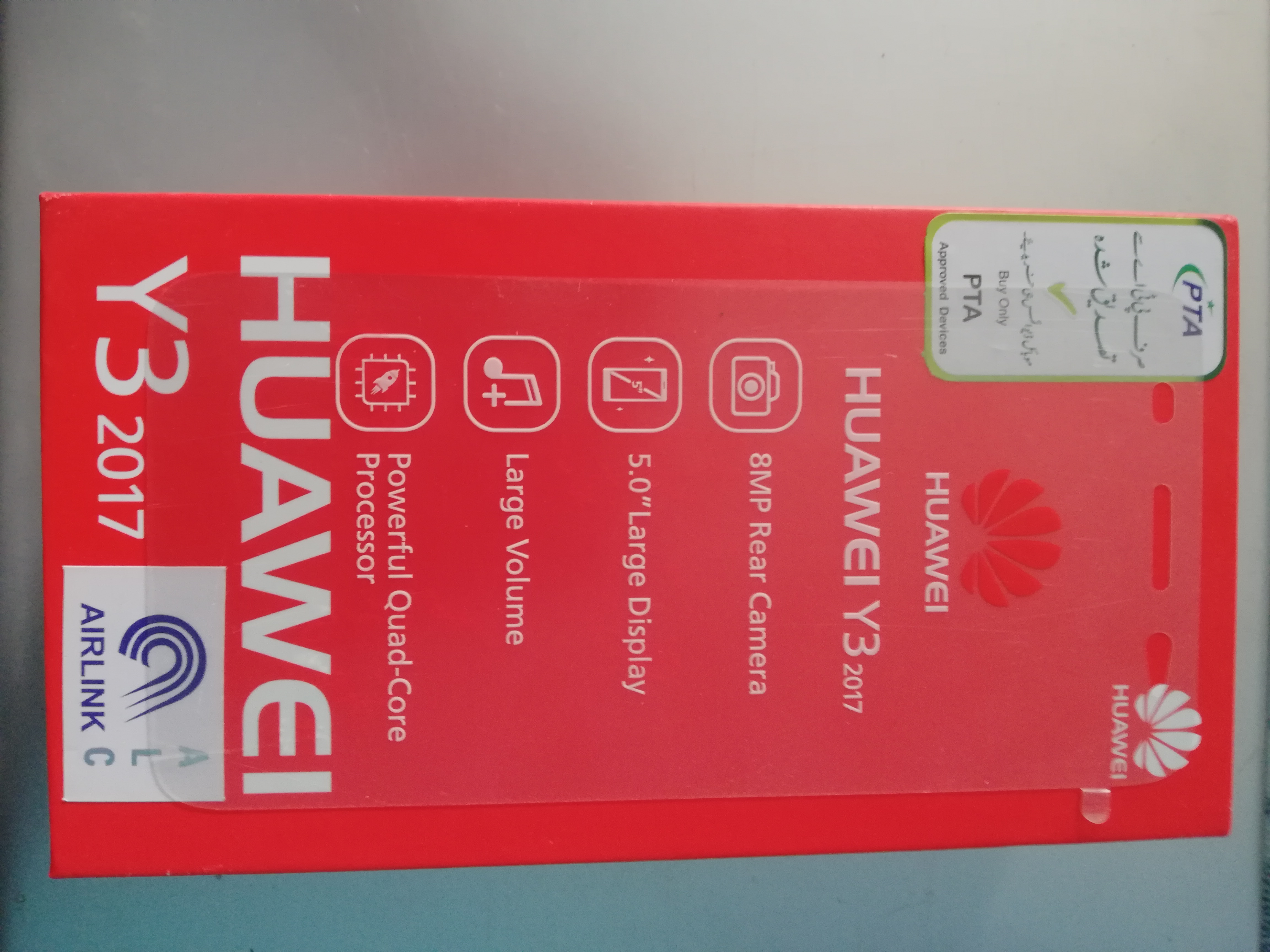 Huawei Y3 2017 for sale 10/10 with 6 months warranty - photo 1
