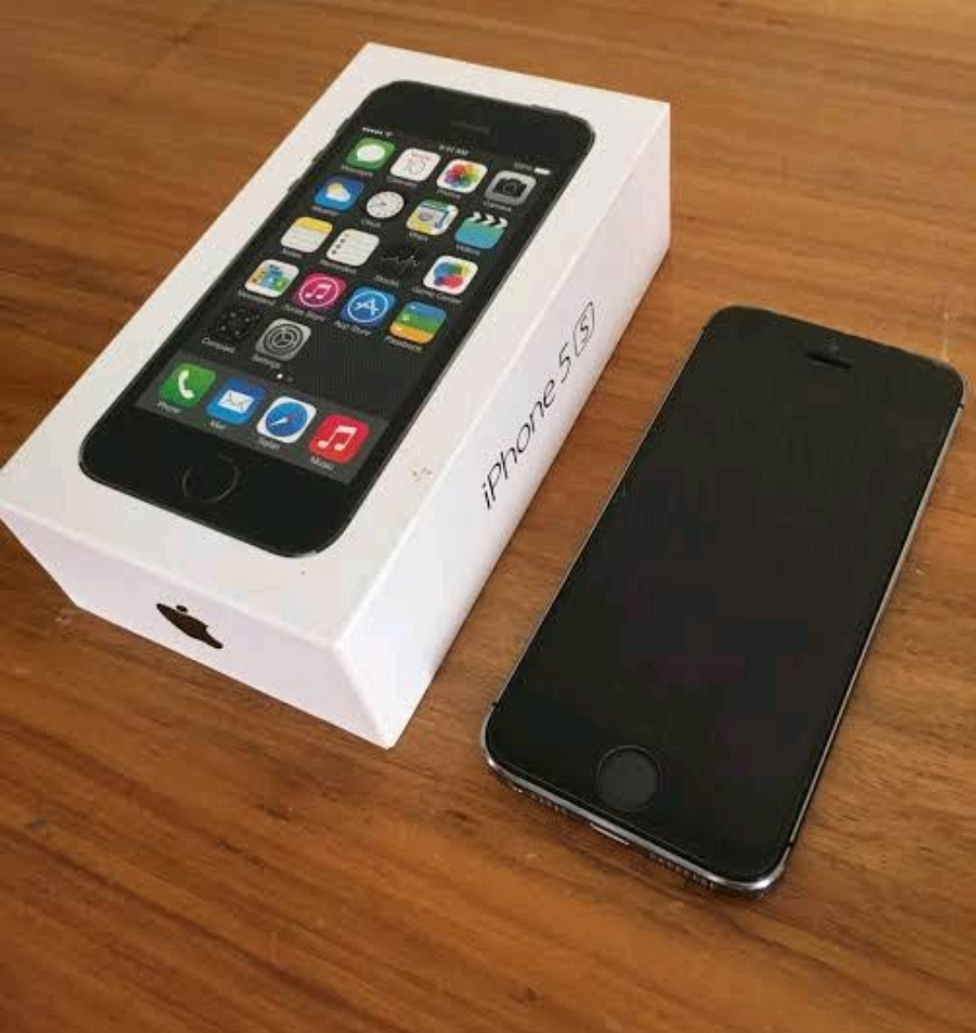 iPhone 5s with full box and 2 cover - photo 1