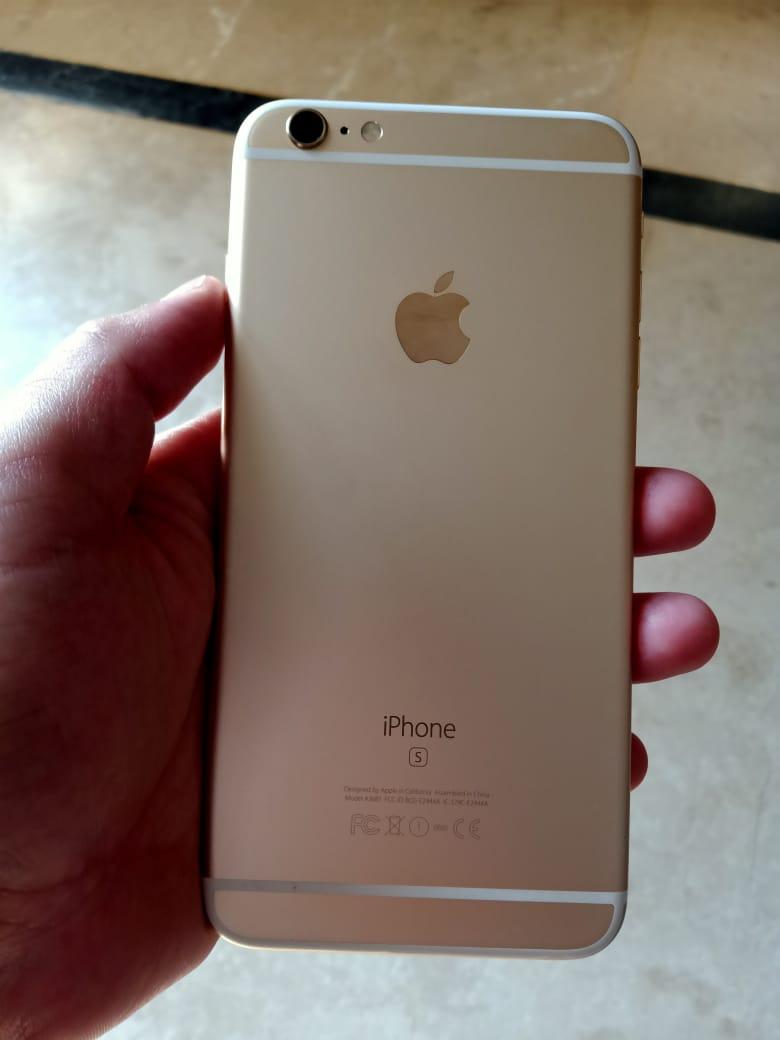 Iphone 6s plus 32gb gold 10/10 PTA approve with box and all accesories - photo 1