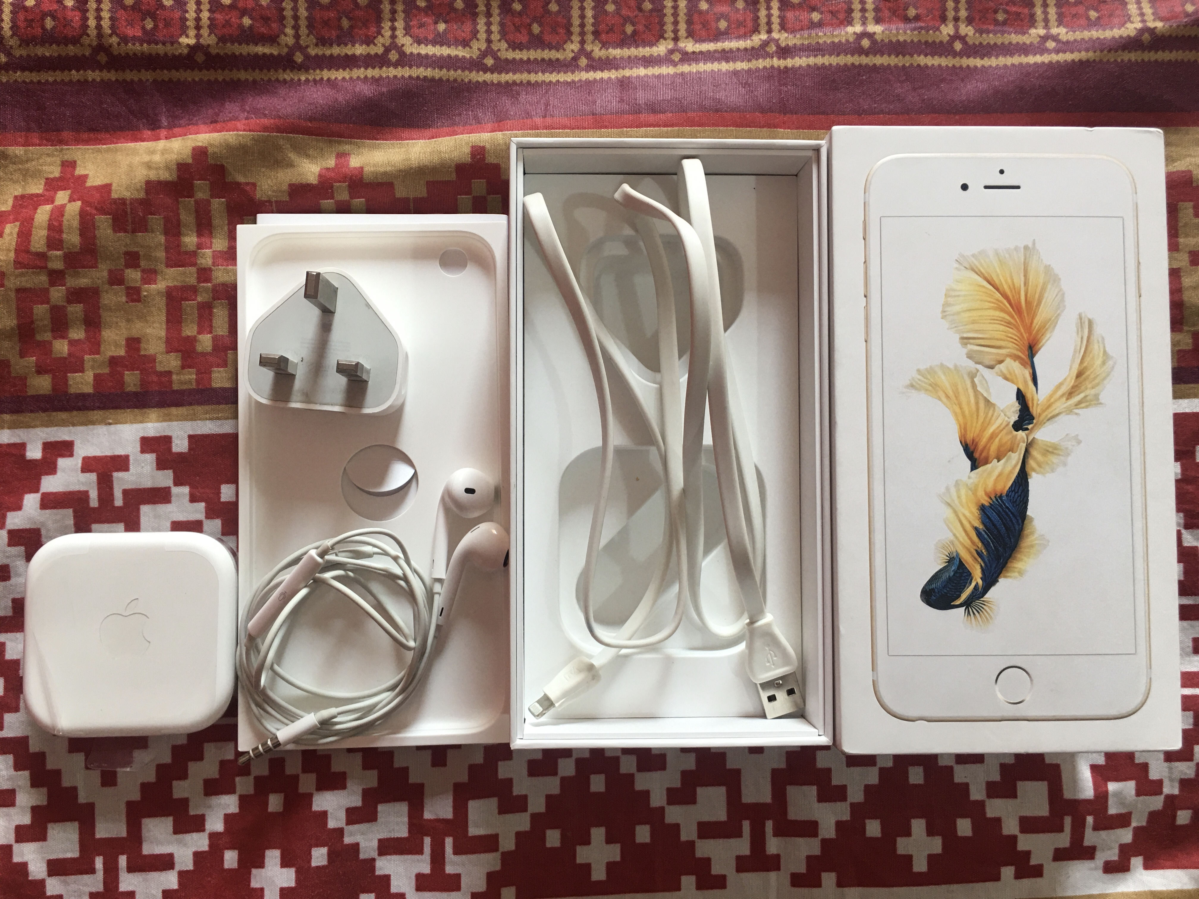 Iphone 6s plus 32gb gold 10/10 PTA approve with box and all accesories - photo 4