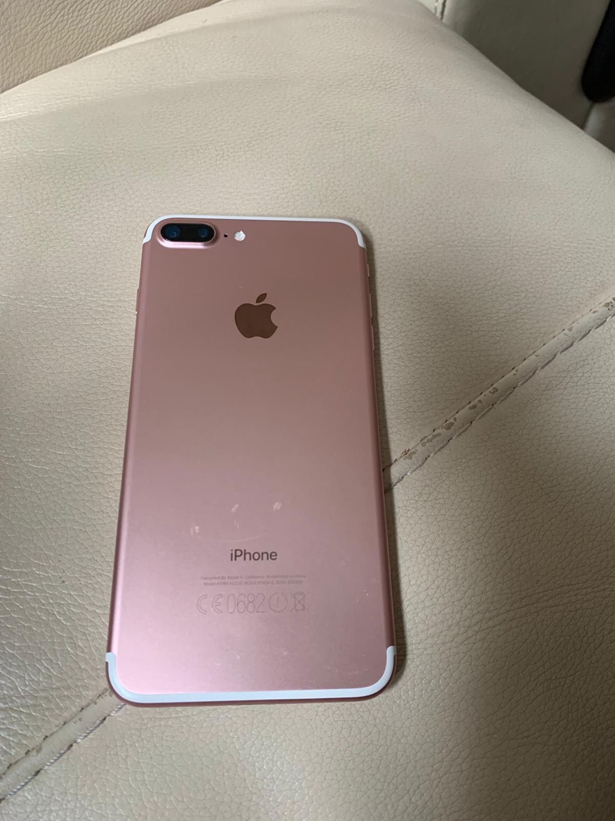 Iphone 7 plus Rose Gold - Used Mobile Phone for sale in Punjab