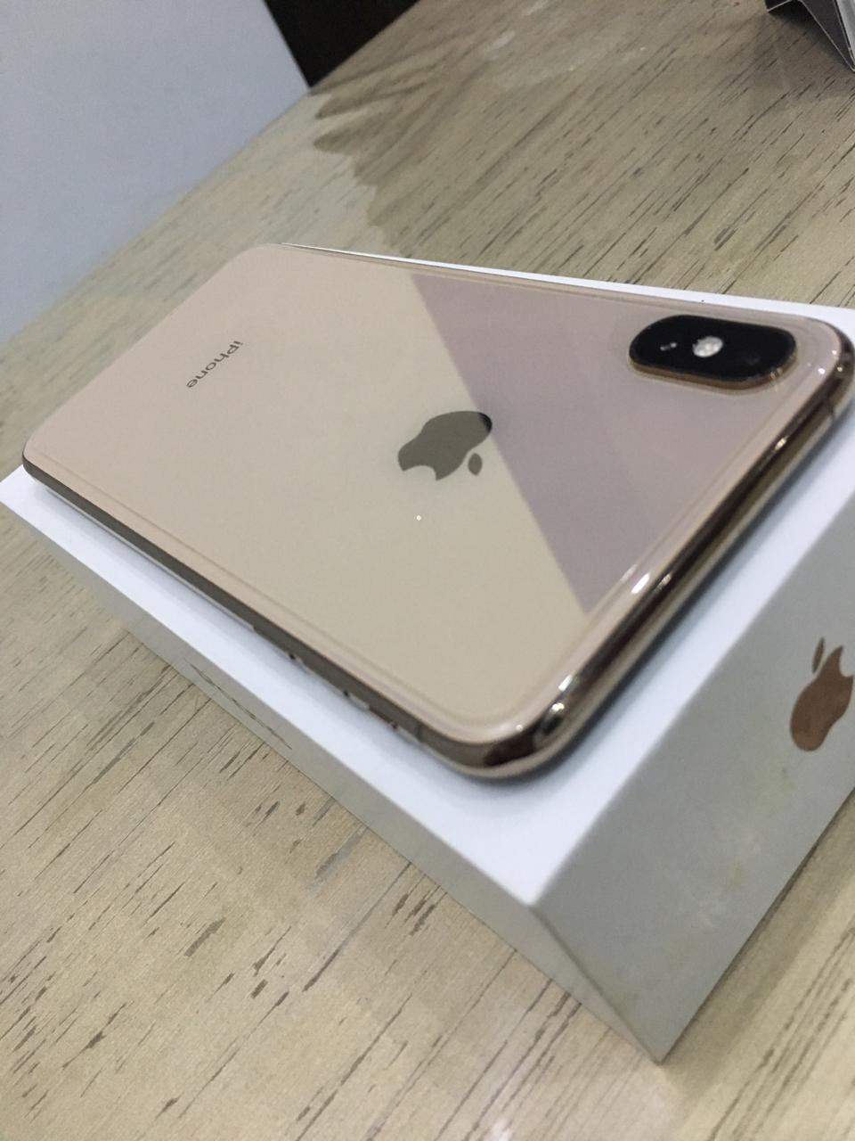 Iphone xs max 64 gb gold pta approved - photo 1