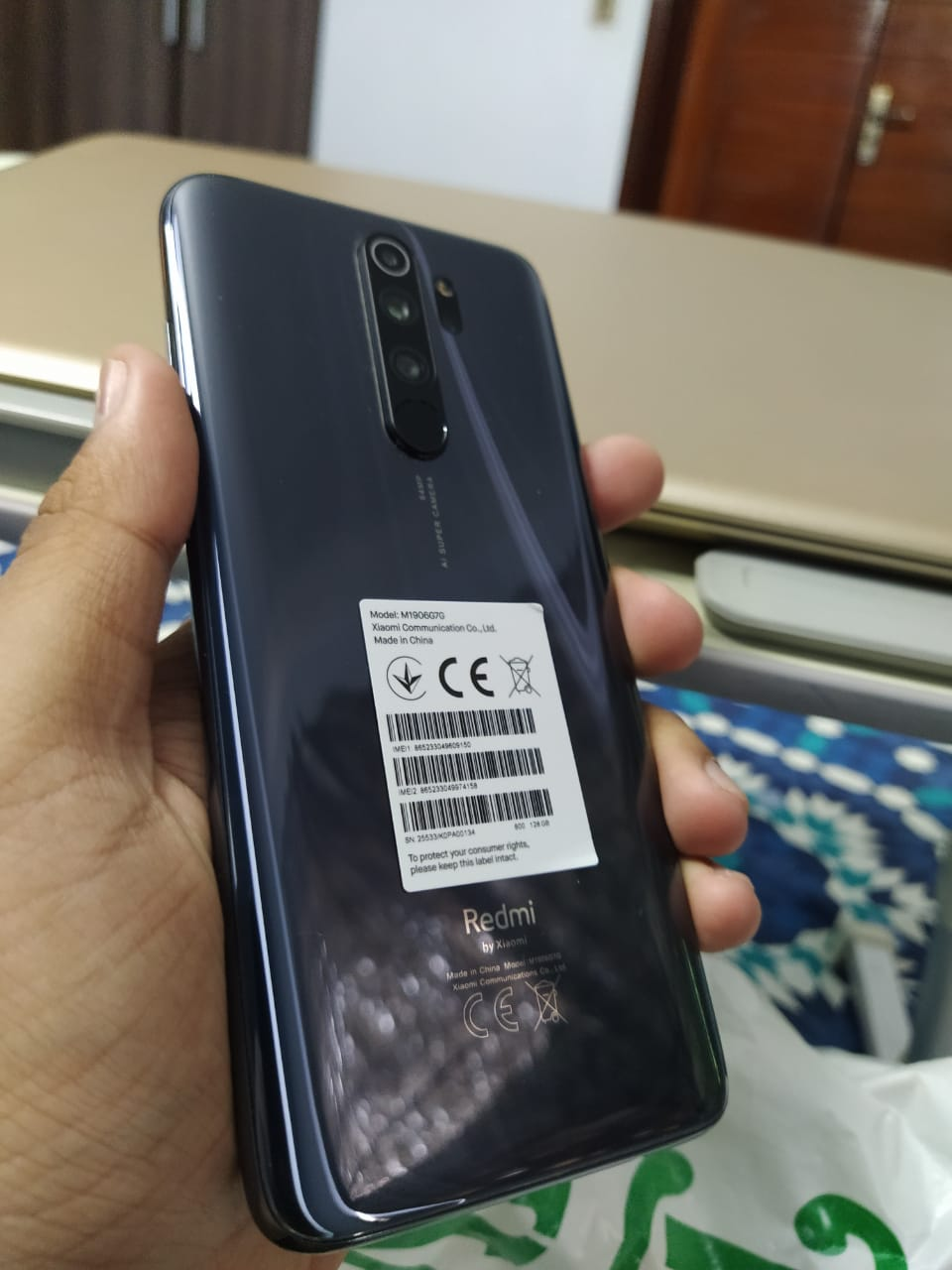 REDMI Note 8 pro 10/10 - Used Mobile Phone for sale in Punjab