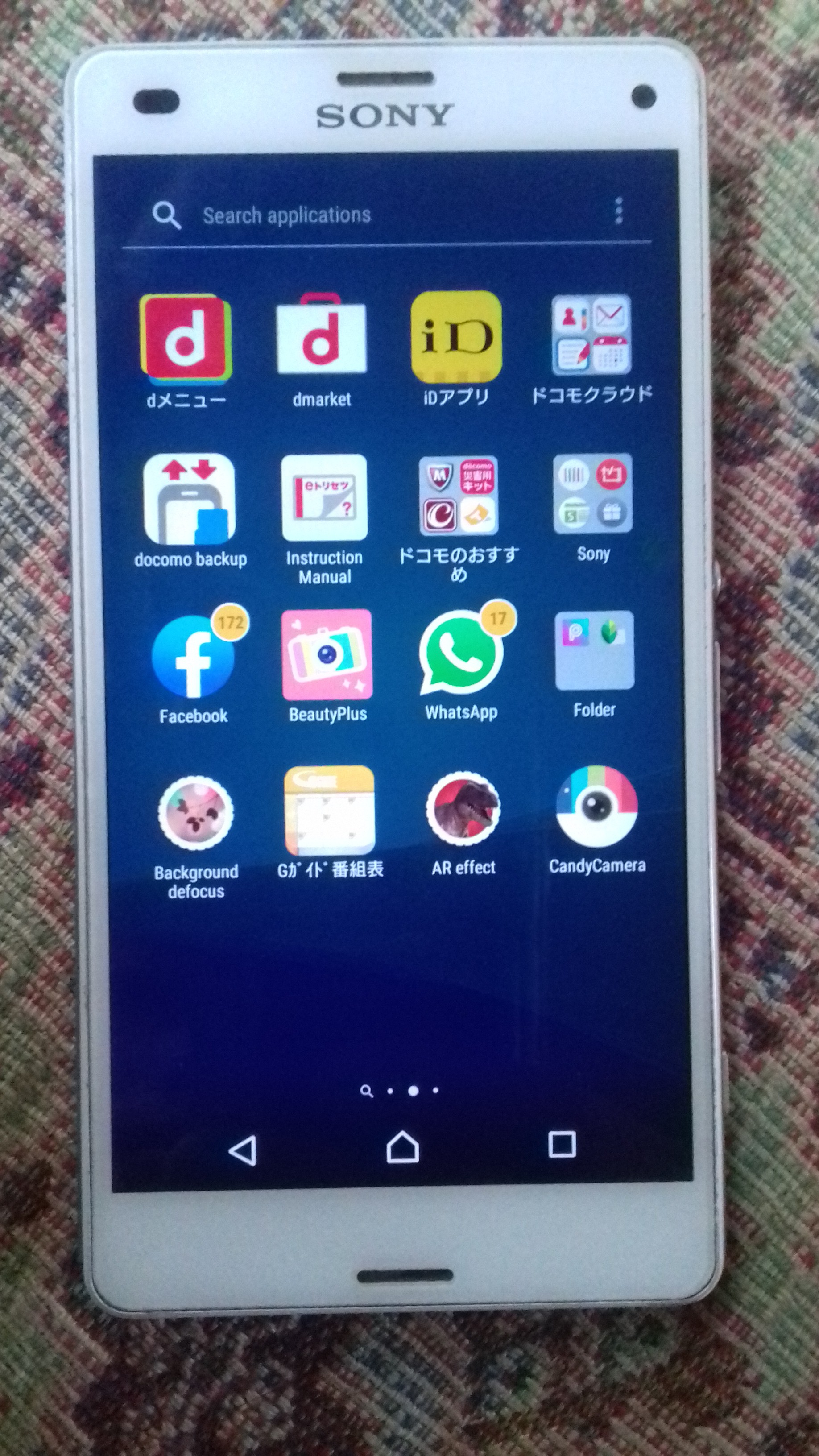 Selling Sony Xperia Z3 Compact SO-02G - photo 1