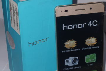 Huawei honor 4C (Golden) - Photos