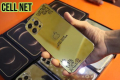 Iphone 12 pro max gold plated clone - Photos