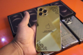 IPhone 12 pro max gold plated Turkish made master copy - Photos