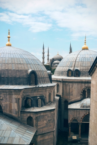 Mosque in Istanbul  free mobile wallpapers