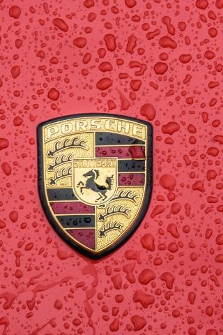 Porsche Logo  free mobile background