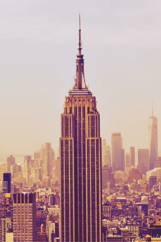 Empire State Building  free mobile background