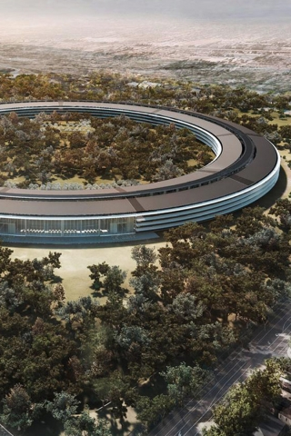 Apple Spaceship Campus  free mobile wallpapers