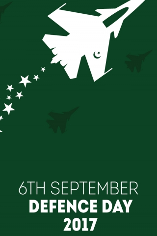 6th September Defence day 2017  free mobile background
