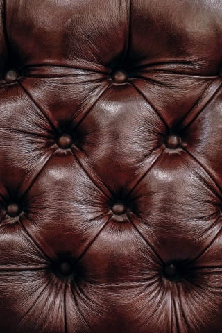 Brown leather sofa  free mobile wallpapers