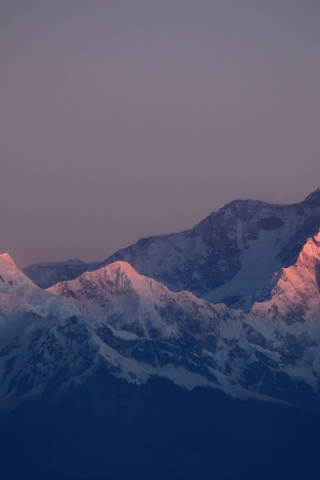 Winter Sunshine Mountain  free mobile wallpapers
