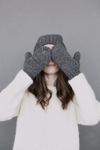 Woman hiding Her Eyes With Hands  free mobile wallpapers