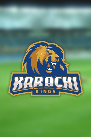 Karachi Kings - PSL Cricket team  free mobile wallpapers
