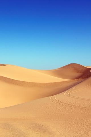 Hot Desert Sand  free mobile wallpapers