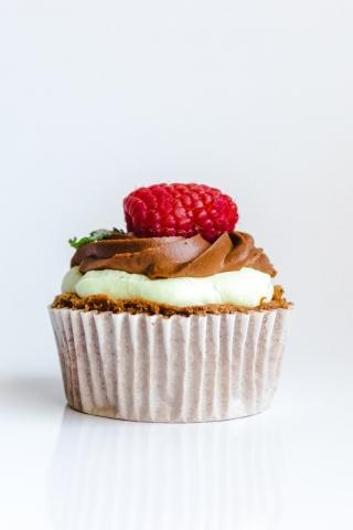 Chocolate Cupcake  free mobile wallpapers