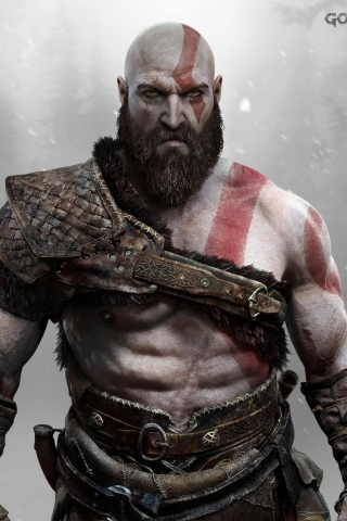 God of War 2018  free mobile wallpapers