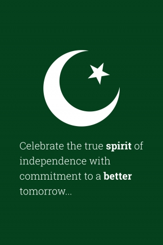 Celebrate the True Spirit - 14th August Quote  free mobile wallpapers