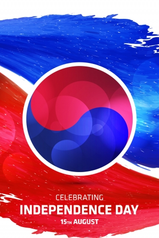 15th August South Korea Independence day  free mobile wallpapers