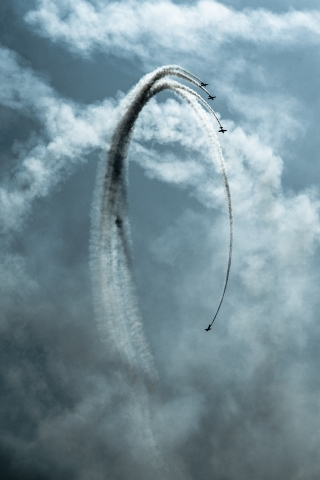 Planes Stunts  free mobile background