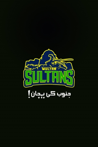 Multan Sultans - Janoob ki pehchaan - New Logo  free mobile background