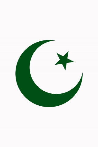 Pakistani Flag White Background  free mobile background