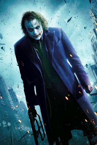 Heath Ledger - Joker  free mobile background