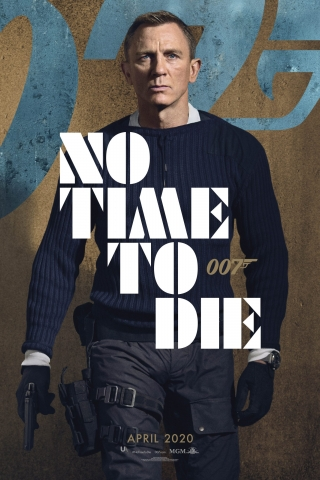 Daniel Craig - No Time To Die - Poster  free mobile wallpapers