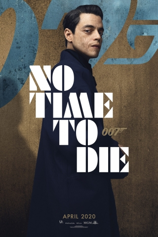 Rami Malek - No Time To Die - Poster  free mobile wallpapers