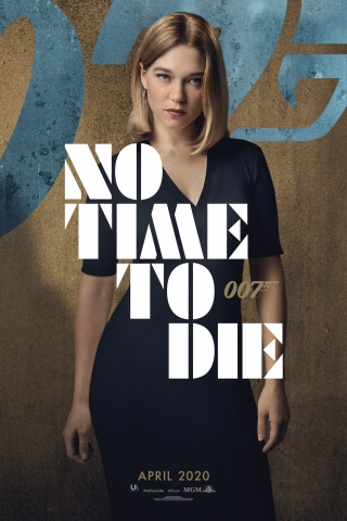 Lea Seydoux - No Time To Die - Poster  free mobile wallpapers
