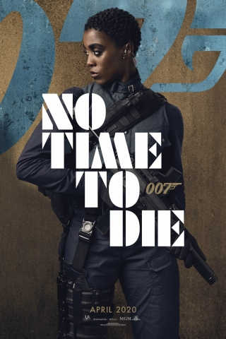 Lashana Lynch - No Time To Die - Poster  free mobile wallpapers
