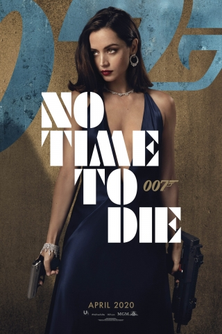 Ana de Armas - No Time To Die - Poster  free mobile background