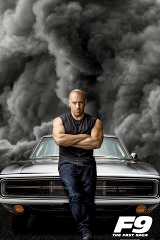 Vin Diesel - Fast and Furious 9 Poster  free mobile background