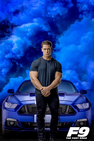 John Cena - Fast and Furious 9 Poster  free mobile wallpapers