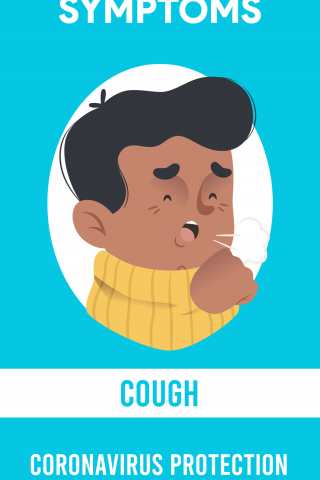 Symptoms - Cough - CoronaVirus Protection  free mobile background