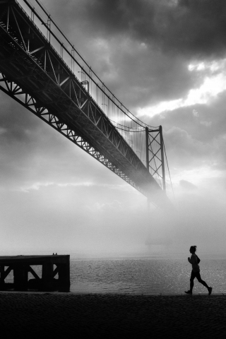 Grayscale Photography  free mobile background