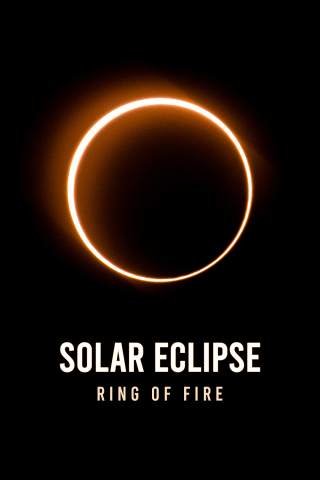 Solar Eclipse - Ring of Fire  free mobile wallpapers